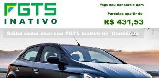 Consórcio para FGTS inativo