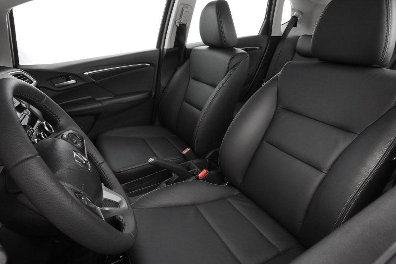 Conforto interno Honda Fit