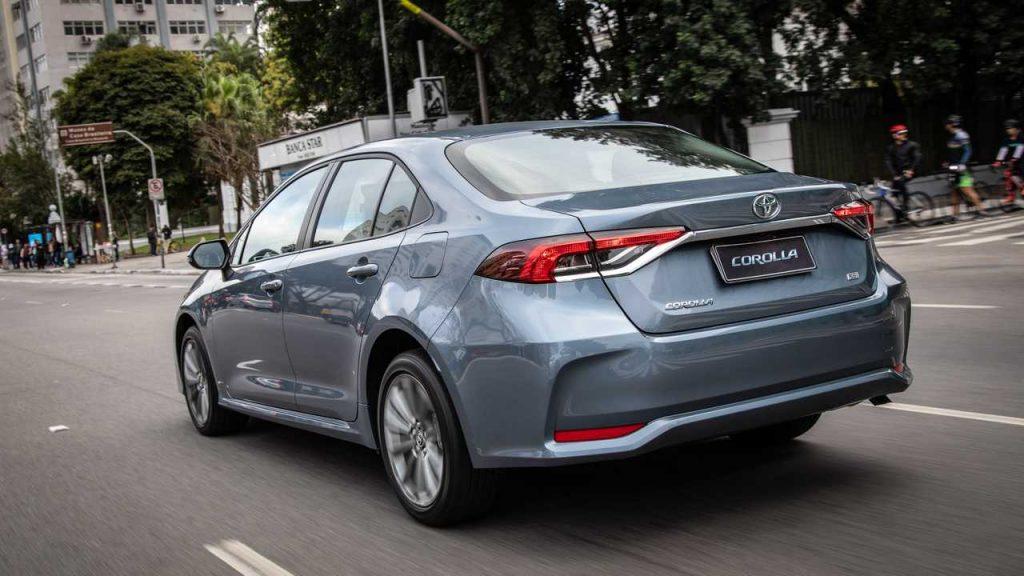 Toyota Corolla 2020 traseira