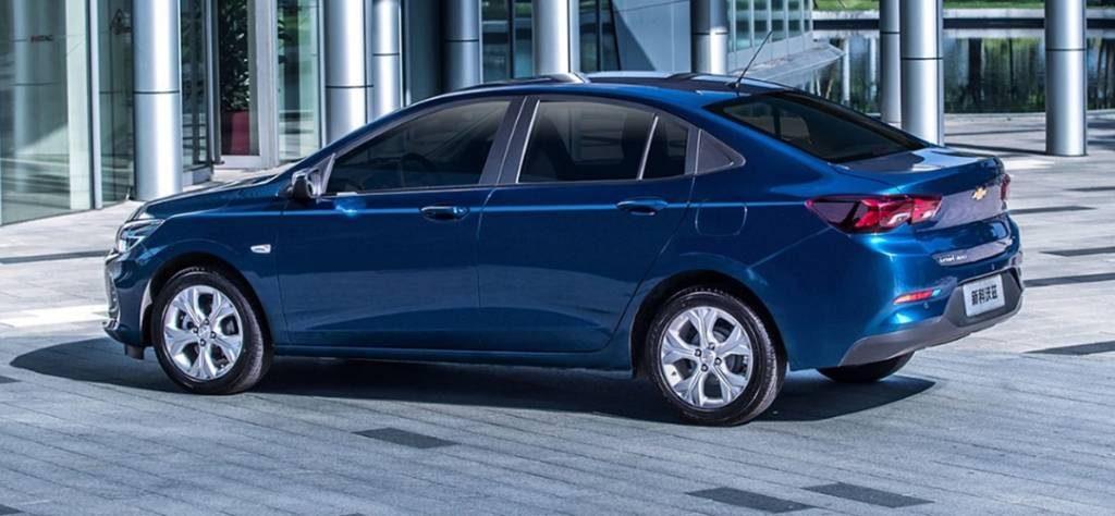 Onix Sedã - Traseira Versão Básica (Chevrolet)