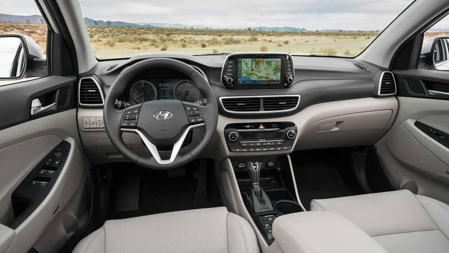 Interior Tucson Hyundai 2019