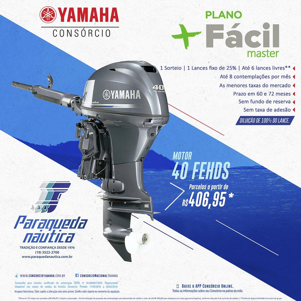 Yamaha consórcio Motor de popa