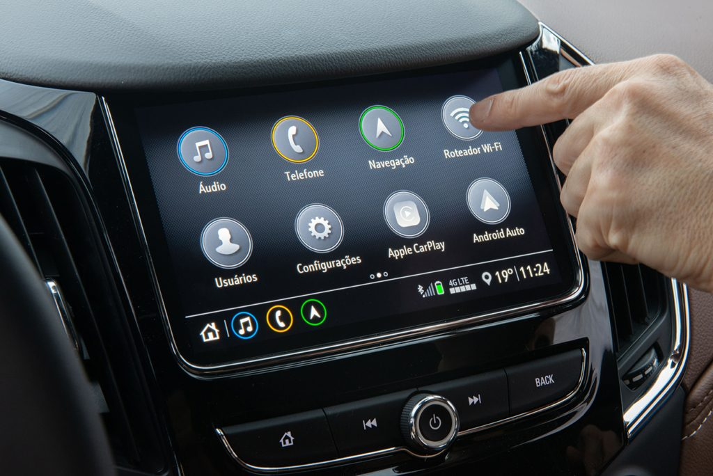 Chevrolet Cruze tecnologia wifi