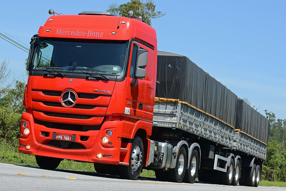 Consórcio de Caminhão e Carreta: Mercedes-Benz Actros 2651