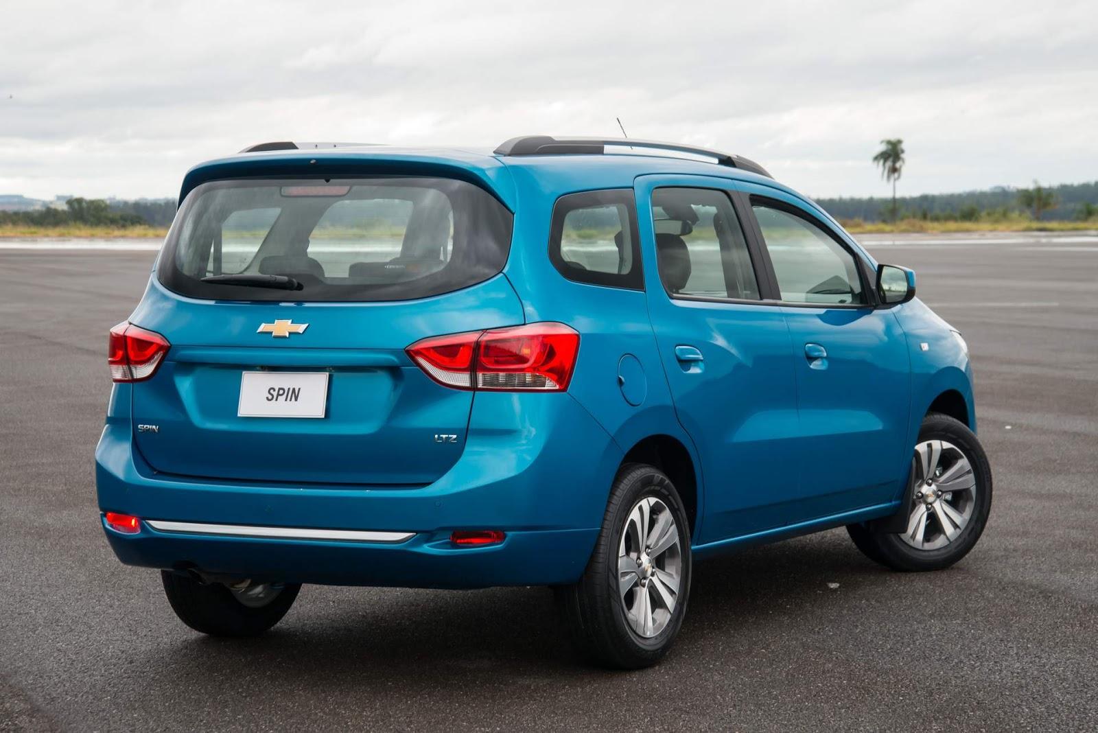 Chevrolet Spin Activ LTZ 2019 consórcio